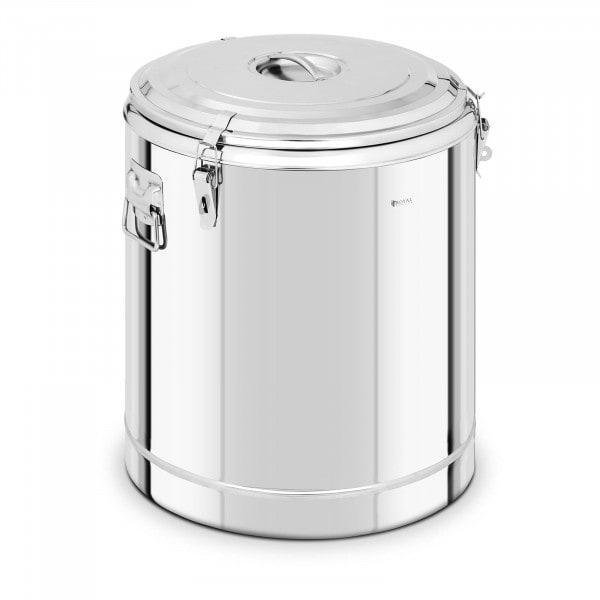 Thermobehälter Edelstahl - 80 L