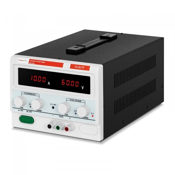 Labornetzgerät - 0-60 V - 0-10 A DC - 600 W