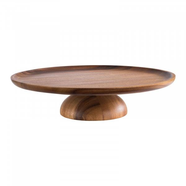 Tortenplatte - Akazienholz, geölt - Durchmesser: 33 cm - Höhe: 8 cm