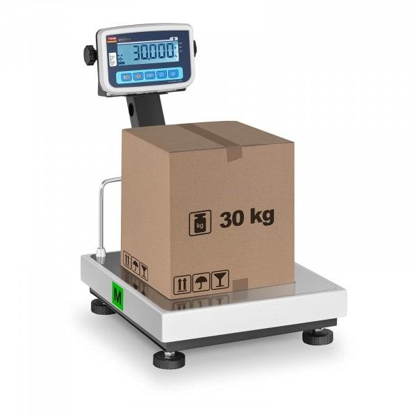 Plattformwaage - geeicht - 30 kg / 10 g