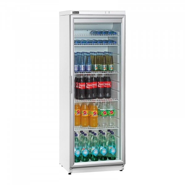 Bartscher Flaschenkühlschrank - 320 Liter - weiß
