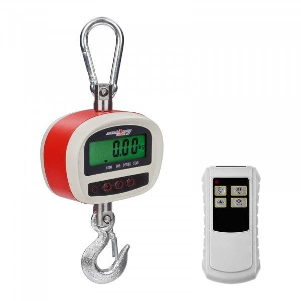 Kranwaage - 300 kg / 50 g - LCD