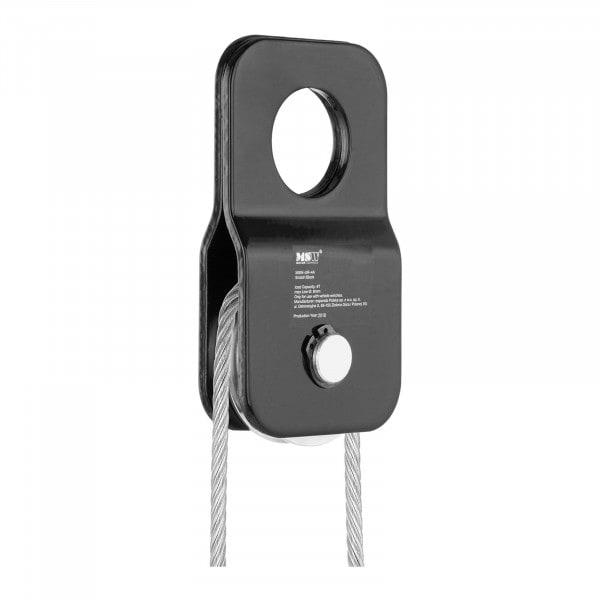 Umlenkrolle - 4.000 kg - Seildurchmesser 1 mm - 8 mm