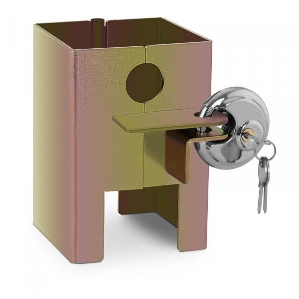 B-Ware Anhängerschloss - 3 Schlüssel