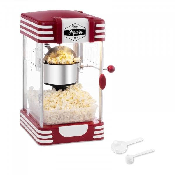 B-Ware Popcornmaschine - 50er Jahre Retro-Design - rot