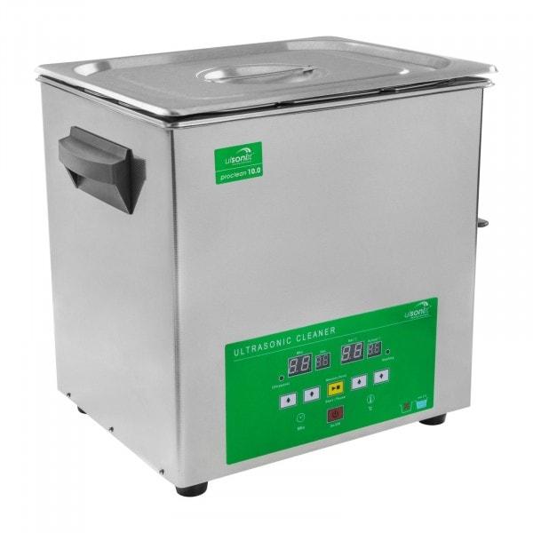 B-WARE Ultraschallreiniger - 10 Liter - Memory Quick
