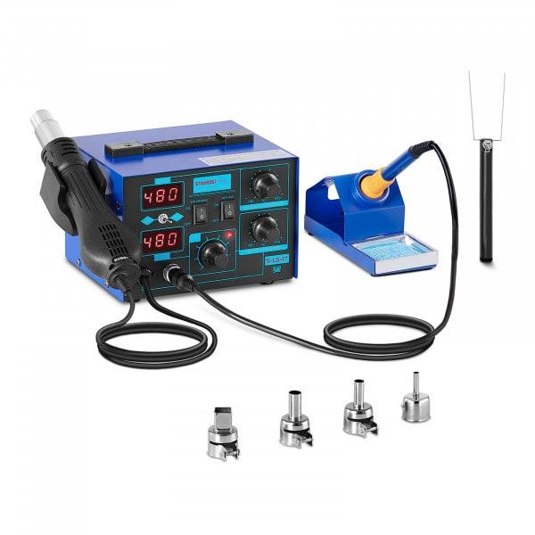 Lötstation - 2 Displays - 730 Watt - Basic