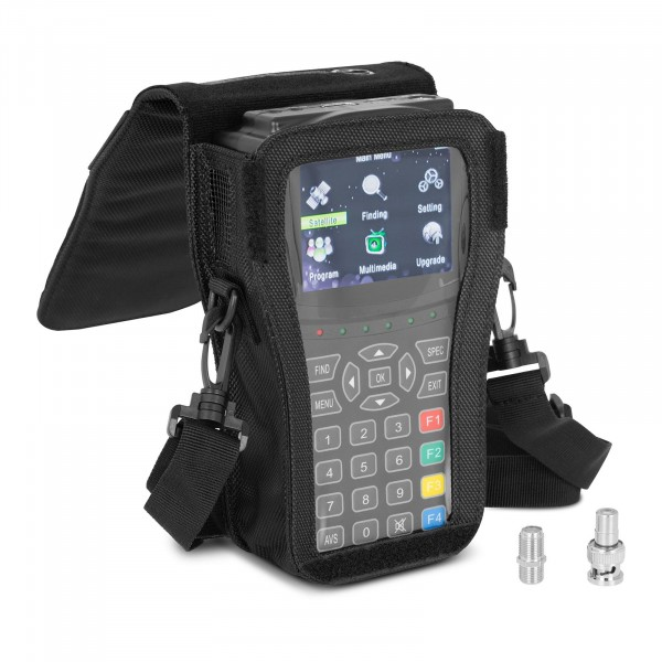 Satfinder - DVB-S2 - Akku - CCTV