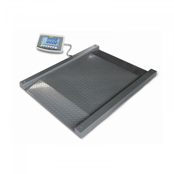 Gesamtansicht von KERN Bodenwaage - 1.500 kg / 0,5 kg - LCD