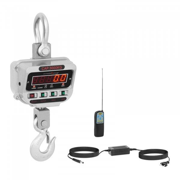 Kranwaage - 3 t / 0,5 kg - LED