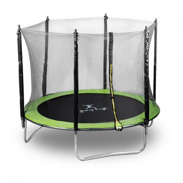 Gartentrampolin - Ø 244 cm - 100 kg - Netz